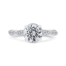Load image into Gallery viewer, CA0434EH-37W-1.50 Bridal Jewelry Carizza White Gold Round Diamond Engagement Rings