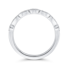 Load image into Gallery viewer, Half Eternity Wedding Band In Round Diamond 14K White Gold
