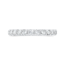 Load image into Gallery viewer, CA0452BH-37W-1.50 Bridal Jewelry Carizza White Gold Round Diamond Wedding Bands