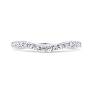 CA0462BH-37W-2.00 Bridal Jewelry Carizza White Gold Diamond Wedding Bands