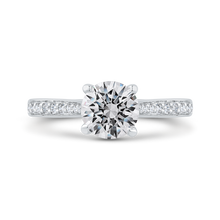 Load image into Gallery viewer, CA0490EH-37W-1.00 Bridal Jewelry Carizza White Gold Round Diamond Engagement Rings