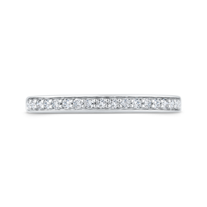 CA0491BH-37W-1.00 Bridal Jewelry Carizza White Gold Diamond Wedding Bands