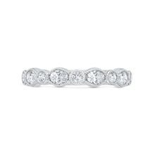 Load image into Gallery viewer, CA0493BH-37W-1.00 Bridal Jewelry Carizza White Gold Diamond Wedding Bands