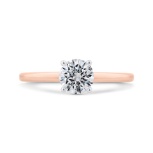 Load image into Gallery viewer, CA0499E-37PW-1.00 Bridal Jewelry Carizza White Gold,Rose Gold Round Diamond Engagement Rings