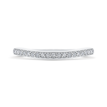 Load image into Gallery viewer, CAE0245BH-37W-1.50 Bridal Jewelry Carizza White Gold Round Diamond Wedding Bands