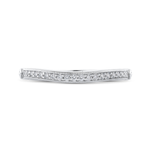 Load image into Gallery viewer, CAO0258BH-37W-1.50 Bridal Jewelry Carizza White Gold Round Diamond Wedding Bands