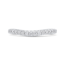 Load image into Gallery viewer, CAQ0422BH-37W-2.00 Bridal Jewelry Carizza White Gold Round Diamond Wedding Bands