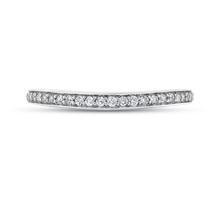 Load image into Gallery viewer, CAU0244BH-37W-1.50 Bridal Jewelry Carizza White Gold Round Diamond Wedding Bands