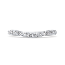 Load image into Gallery viewer, CAU0288B-37W-2.00 Bridal Jewelry Carizza White Gold Round Diamond Wedding Bands