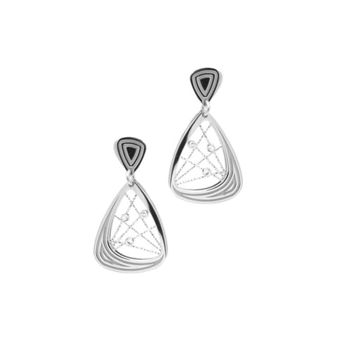 sterling silver madelaine earrings e1062