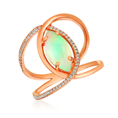 le vian® ring featuring 1 cts