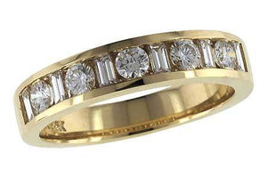 14KT Gold Ladies Wedding Ring - M120-46264_Y