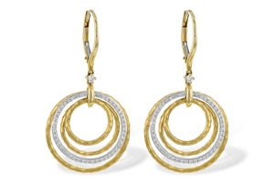 14KT Gold Earrings - M216-86191_T