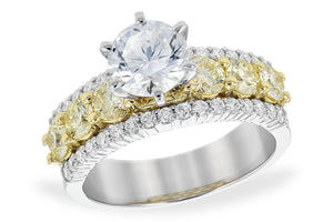 14KT Gold Semi-Mount Engagement Ring - M216-86228_TR