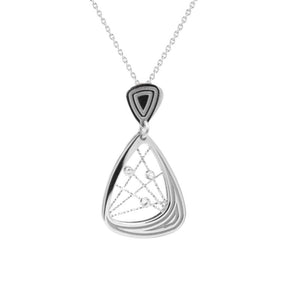 sterling silver madelaine necklace ne1062