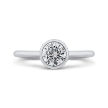 Load image into Gallery viewer, PR0260EC-44W-.75 Bridal Jewelry Carizza White Gold Round Diamond Engagement Rings