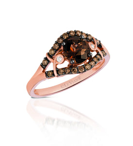 le vian chocolatier® ring featuring 3/4 cts
