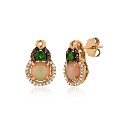 le vian chocolatier® earrings featuring 7/8 cts
