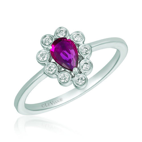 le vian® ring featuring 3/8 cts