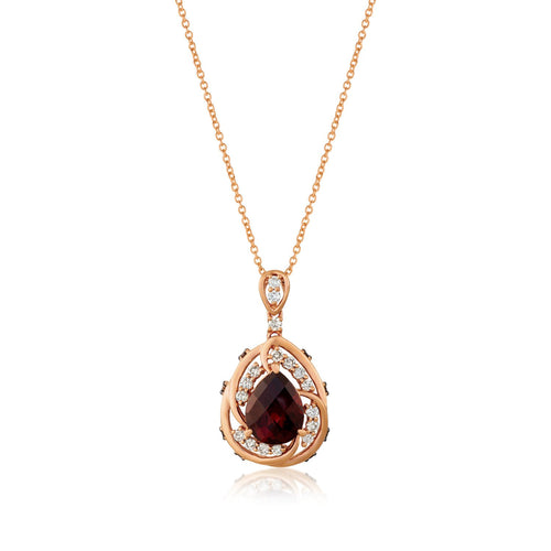 le vian creme brulee® pendant featuring 2  5/8 cts