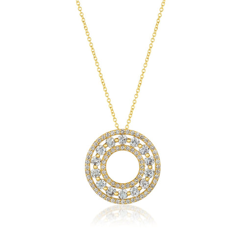le vian creme brulee® pendant featuring 1  5/8 cts
