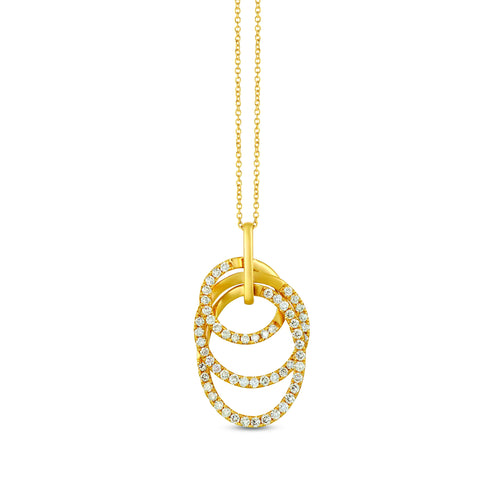 le vian creme brulee® pendant featuring 1 cts
