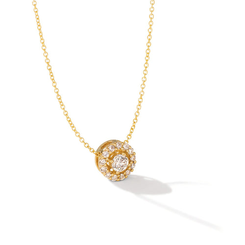 le vian creme brulee® pendant featuring 1/2 cts