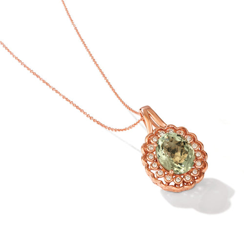 le vian creme brulee® pendant featuring 4  3/4 cts