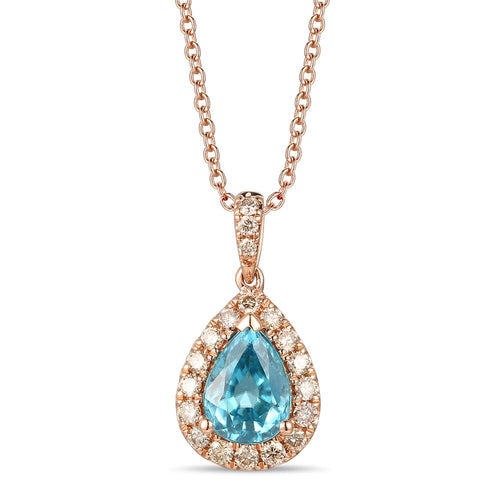 le vian creme brulee® pendant featuring 1  7/8 cts