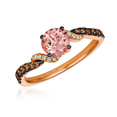 le vian chocolatier® ring featuring 1/2 cts