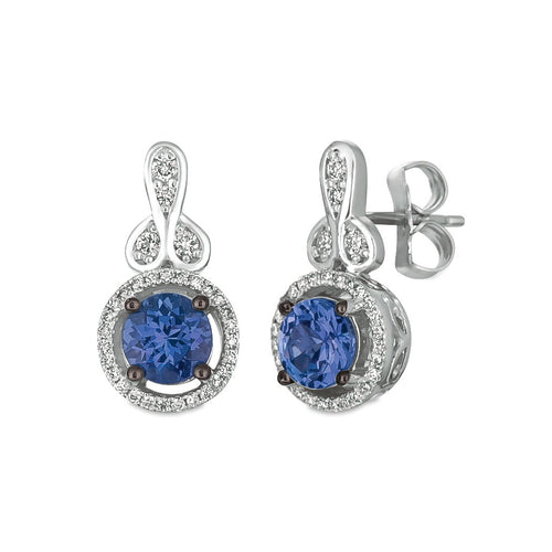 le vian® earrings featuring 1 cts
