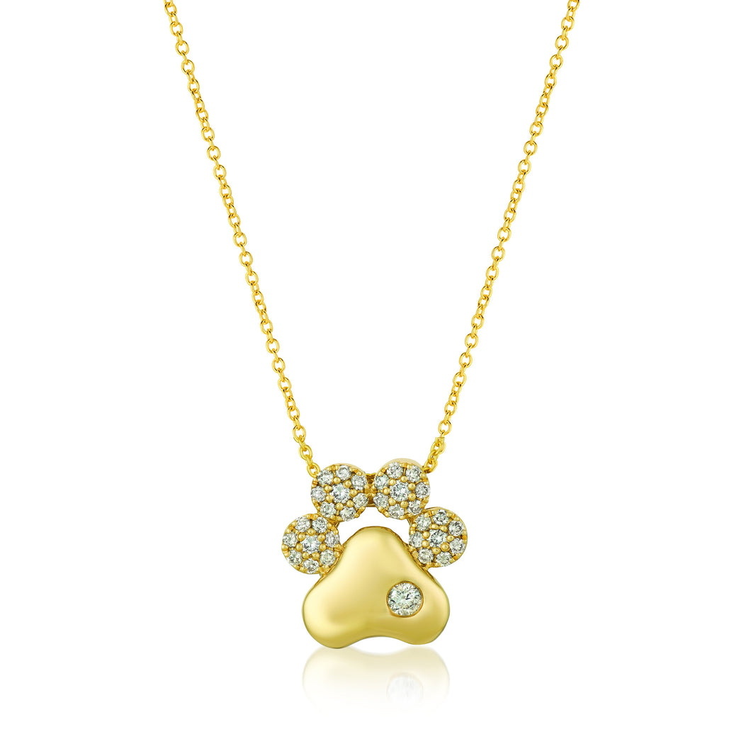le vian creme brulee® pendant featuring 1/3 cts