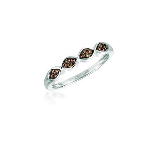 le vian chocolatier® ring featuring 1/8 cts
