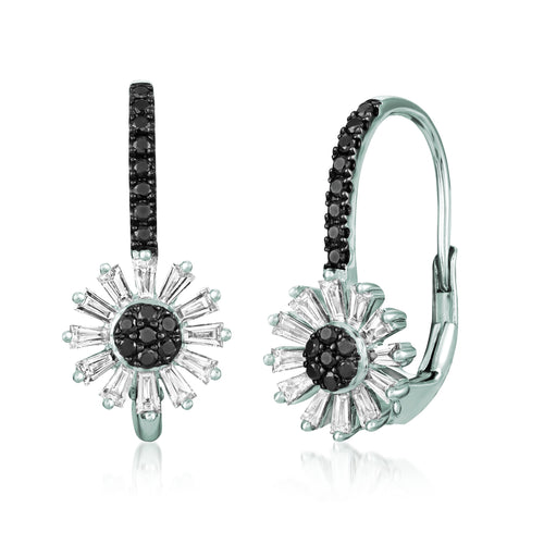 le vian exotics® earrings featuring 5/8 cts