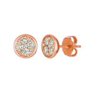 le vian creme brulee® earrings featuring 1/4 cts