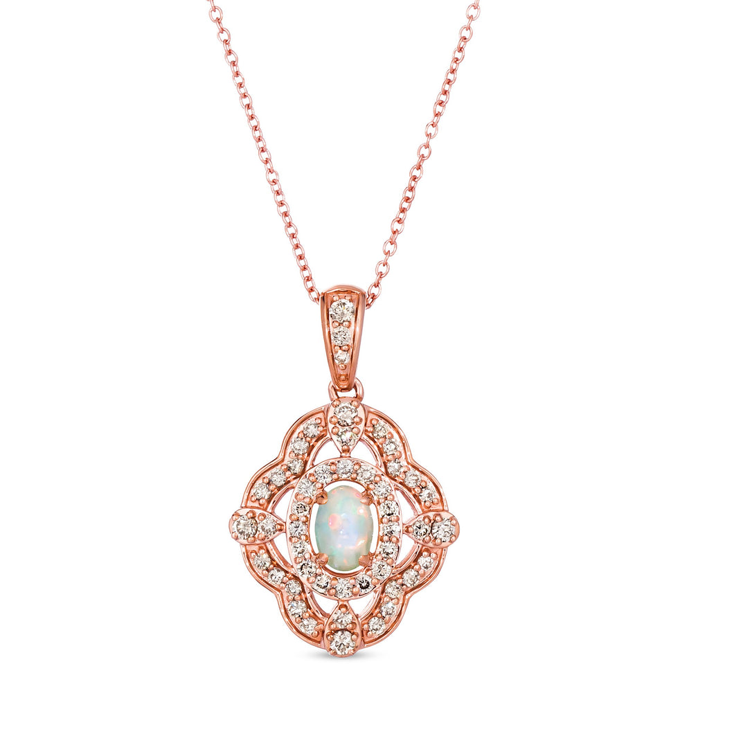 le vian creme brulee® pendant featuring 1/5 cts