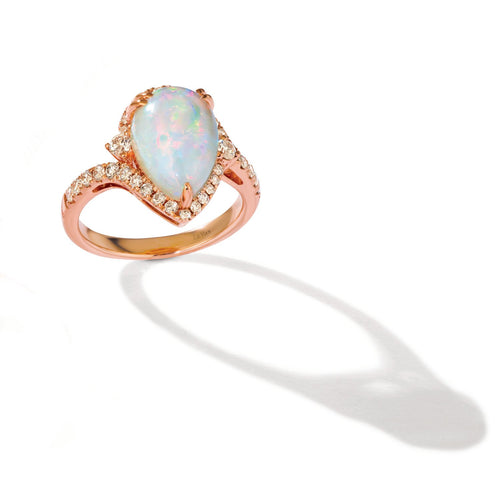 le vian creme brulee® ring featuring 2  1/4 cts