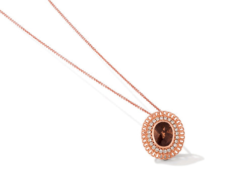 le vian creme brulee® pendant featuring 1  1/2 cts