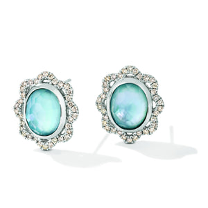 le vian creme brulee® earrings featuring 5  5/8 cts