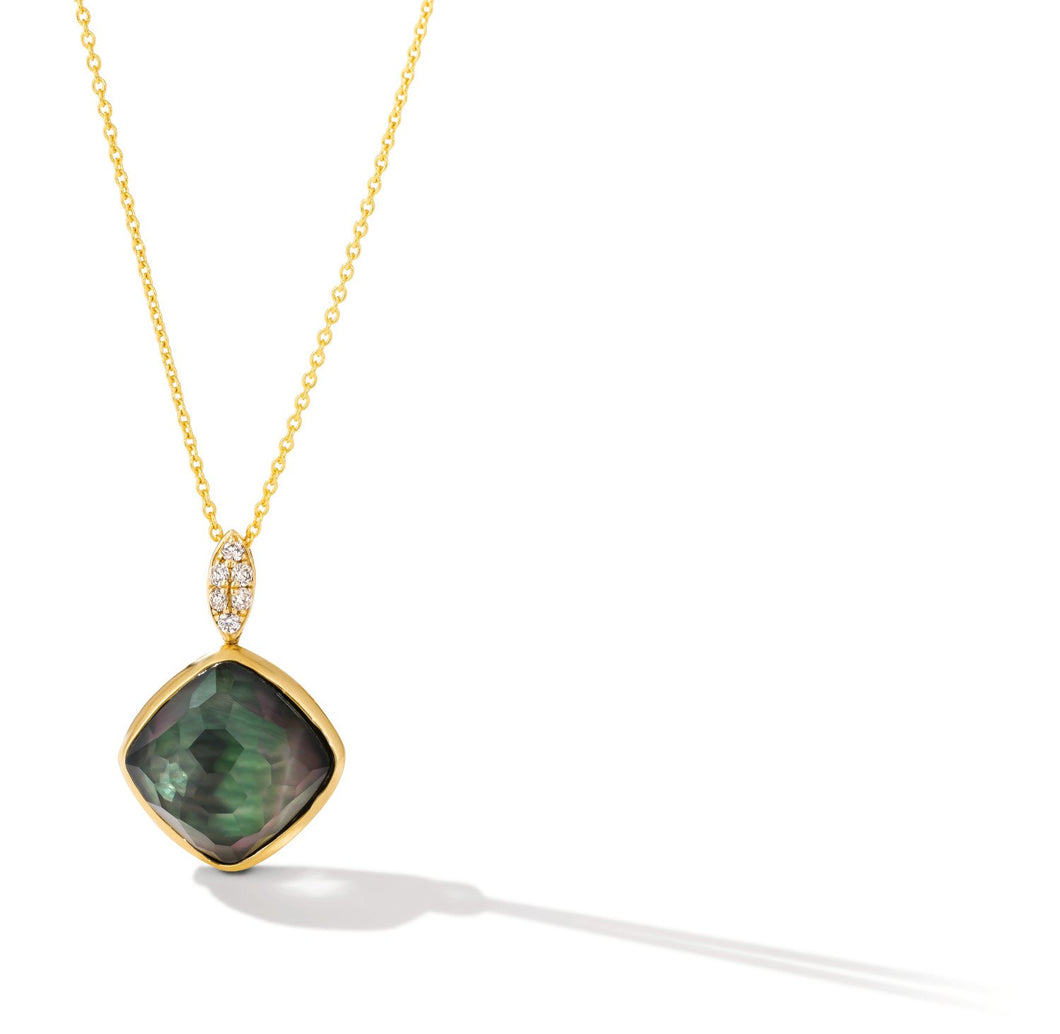 le vian creme brulee® pendant featuring 5  3/8 cts