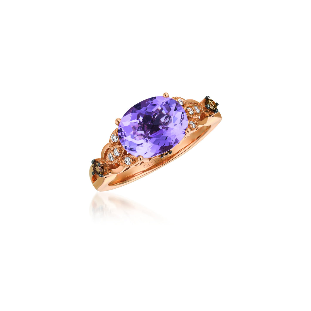 le vian chocolatier® ring featuring 2 cts