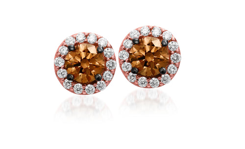le vian red carpet® earrings featuring 1/2 cts