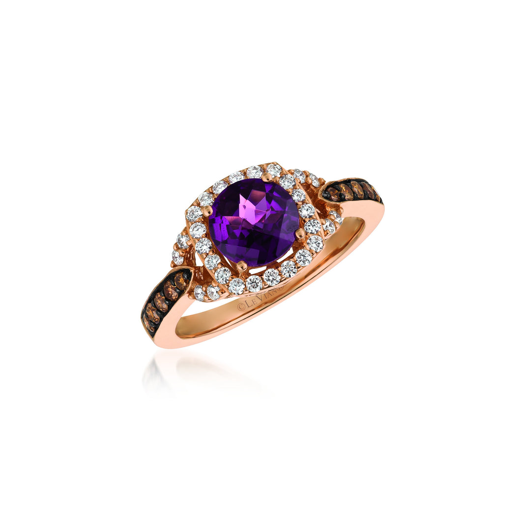 le vian chocolatier® ring featuring 1  1/5 cts