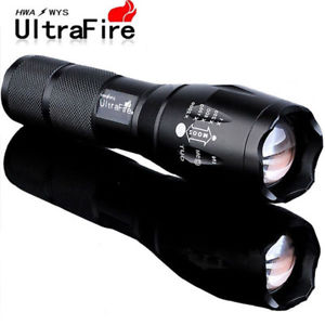 Ultrafire LED Zoomable Flashlight (5Modes)