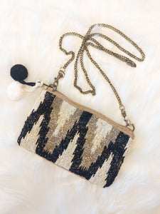 Cleopatra Beaded Crossbody