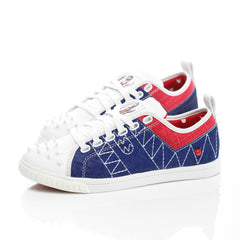 Crazy Horse Low Royal Blue / White / Red - Men