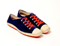Moccasin Suede Blue