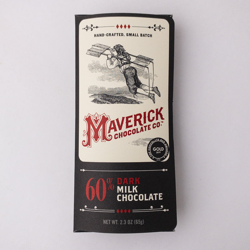 60% Dark Milk Chocolate