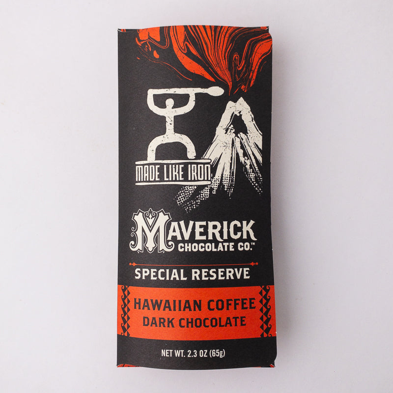 Made Like Iron Hawaiian Coffee