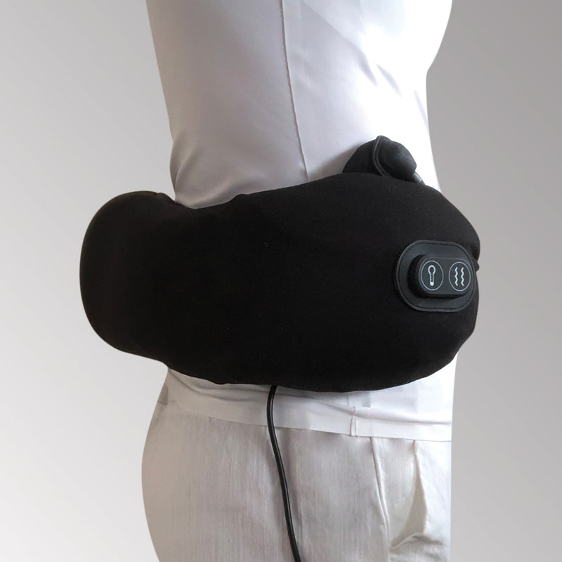 Travelmall Switzerland Multi-Functional Massage & Heat Pillow with Patented Pump